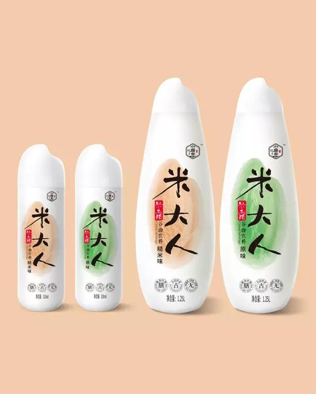 中川农业-小唐家米大人饮料品牌与包装设计